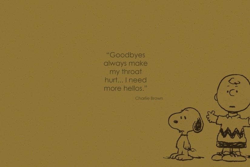 Snoopy, Charlie Brown, Quote Wallpapers HD / Desktop and Mobile Backgrounds