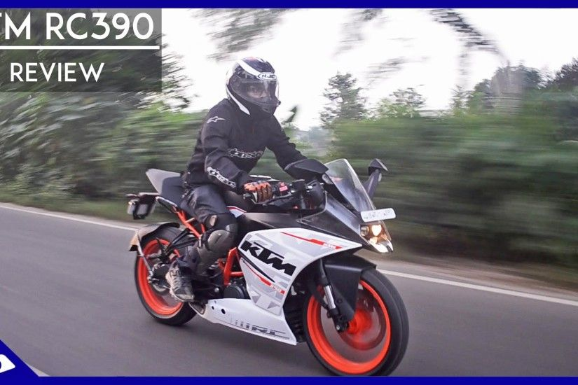 KTM RC390 first Road test India & full review + Alpinestars Gloves  Giveaway! | RWR - YouTube