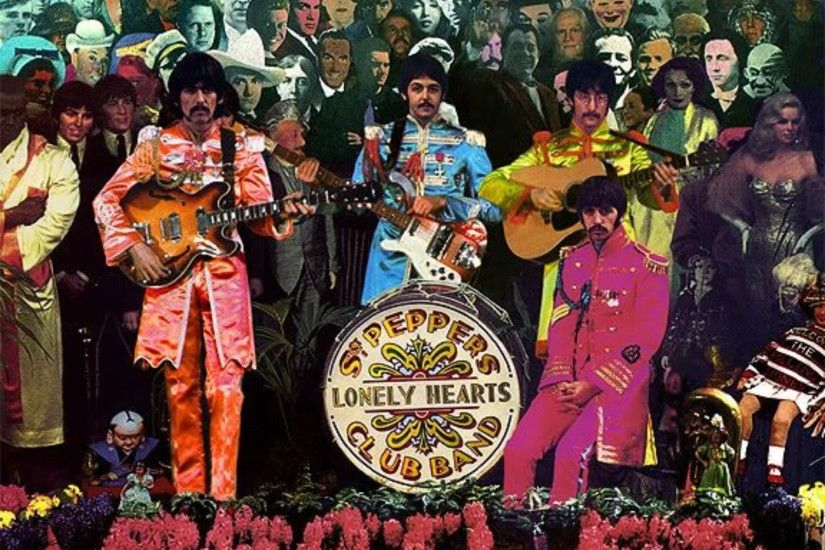 Outtakes From The Beatles' Cover Shoot For Sgt. Pepper's Lonely Hearts Club  Band - That Eric Alper