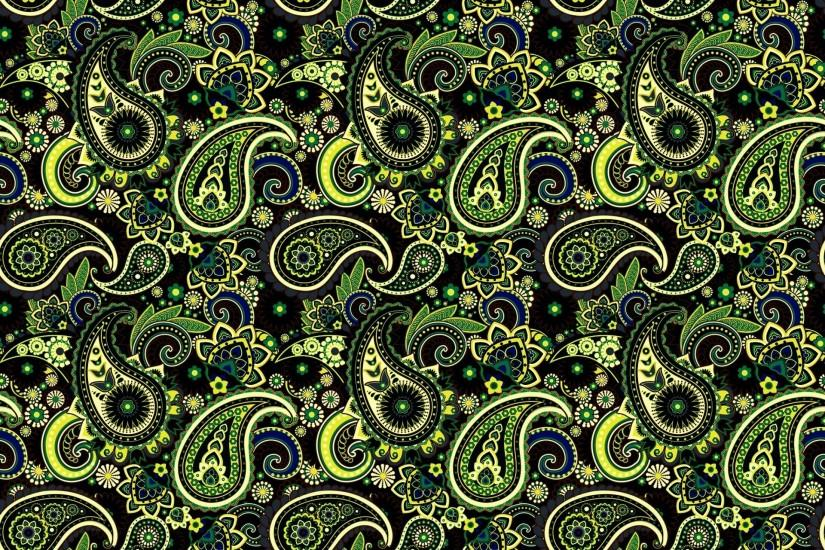 pattern pattern indian cucumber green paisley