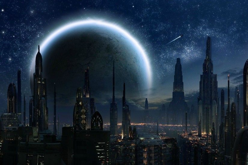 Coruscant - Star Wars wallpaper 1920x1080 jpg