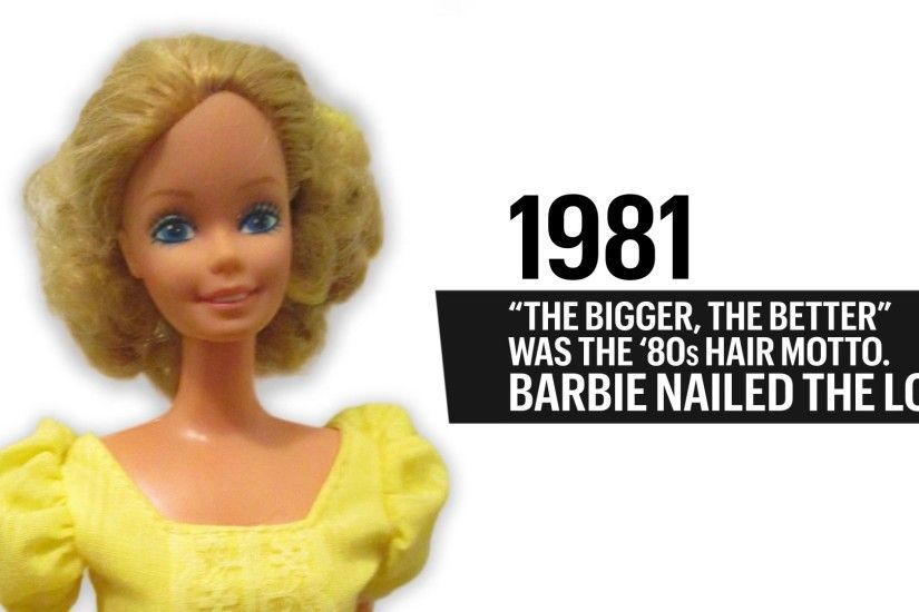 The Evolution of Barbie Over The Past 50 Years
