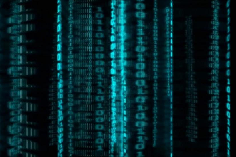 Matrix Background.-Technology background with binary codes Motion Background  - VideoBlocks