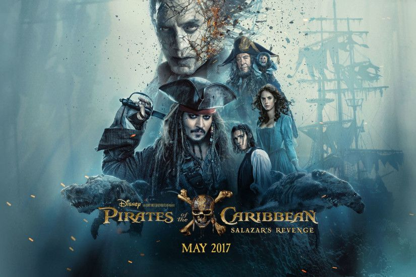 Image - Pirates of the Caribbean Salazar's Revenge Wallpaper.jpeg | PotC  Wiki | FANDOM powered by Wikia