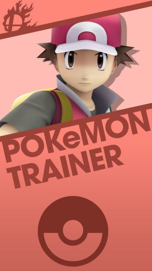 Phone Wallpaper by MrThatKidAlex24 Pokemon Trainer Smash Bros. Phone  Wallpaper by MrThatKidAlex24