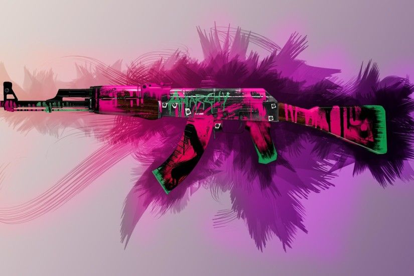 AK47 Neon Revolution Wallpapers