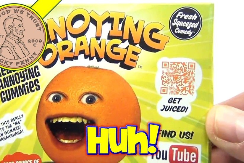 Annoying Orange - Real Annoying Gummies With 5 Fruity Flavors.......Hey  Apple! - YouTube