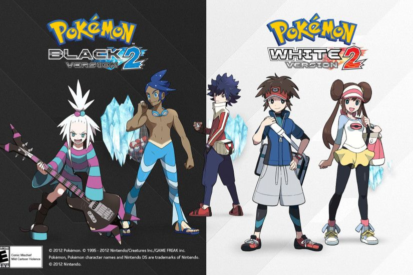 Pokemon Black and White 2 Trainers Wallpaper