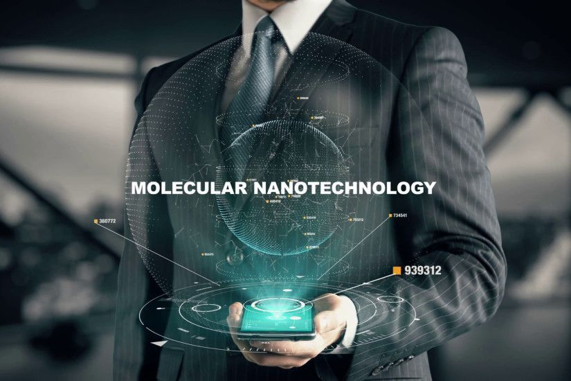 Businessman with Molecular Nanotechnology hologram concept Stock Video  Footage - VideoBlocks