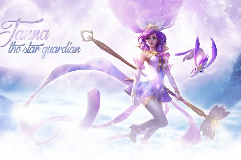... Star Guardian Janna - Wallpaper by ACathriine