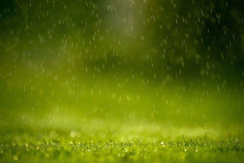 Photos computer background rain spring backgrounds desktop .