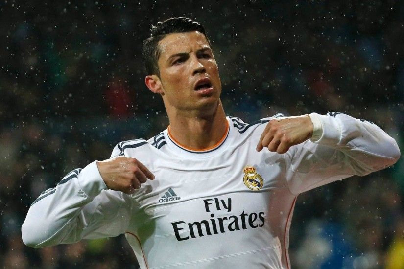 Widescreen, Cristiano Ronaldo Wallpaper, Free Wallpapers, Real Madrid,  Number 7, Ball