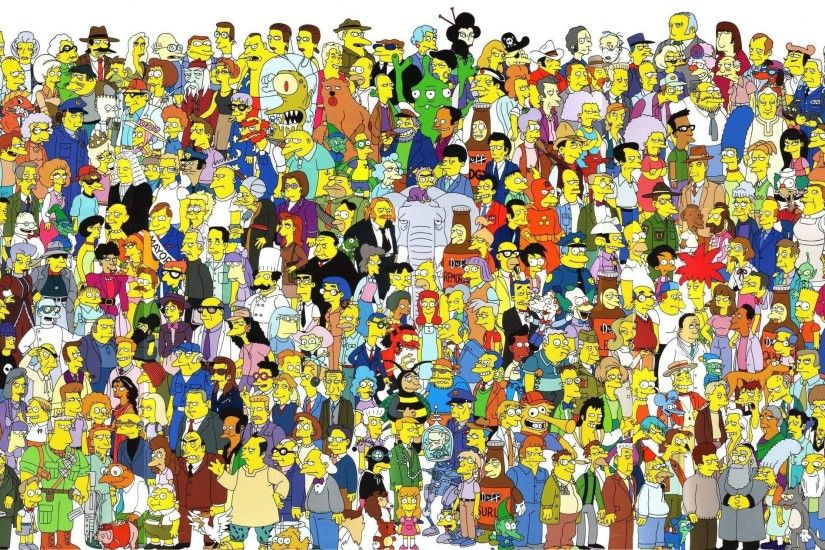 Simpsons Characters Wallpapers Wallpaper