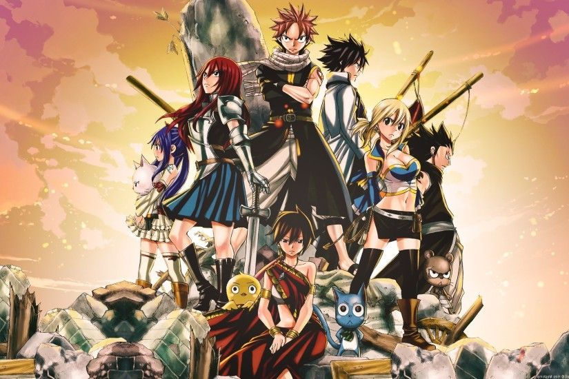 Fairy Tail 7 Dragon Slayer Wallpapers Background As Wallpaper HD