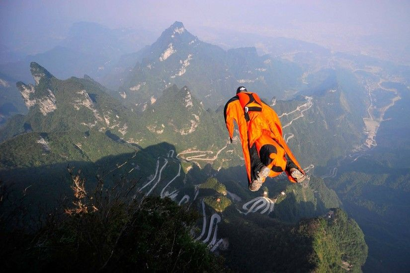 Wingsuit Wallpapers - Wallpaper Cave ...