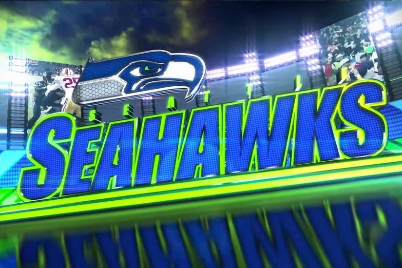 Seattle Seahawk Desktop Wallpaper.
