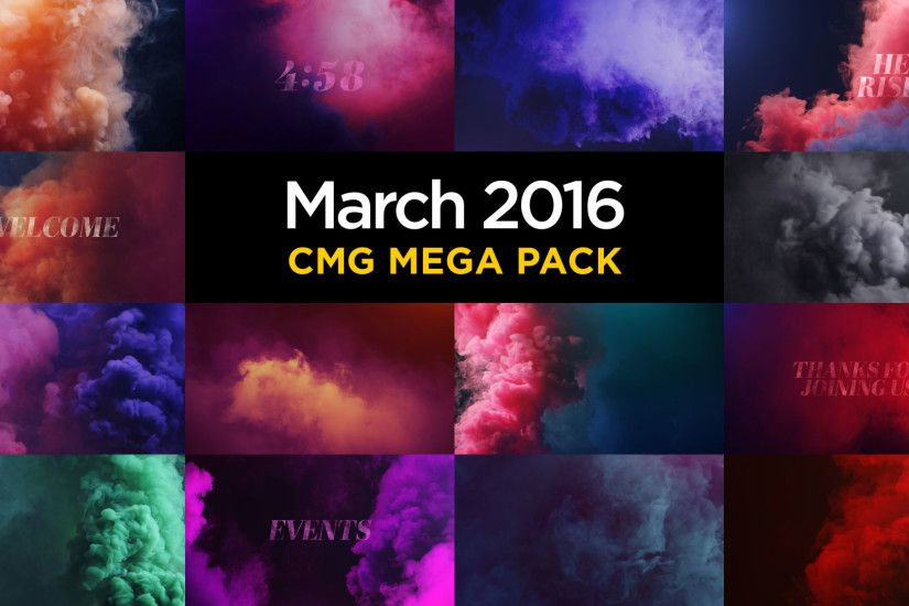 March 2016 CMG Mega Pack