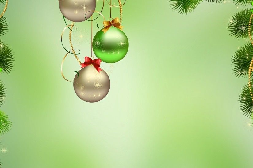 1920x1080 Wallpaper christmas ornament, new year, christmas, balls