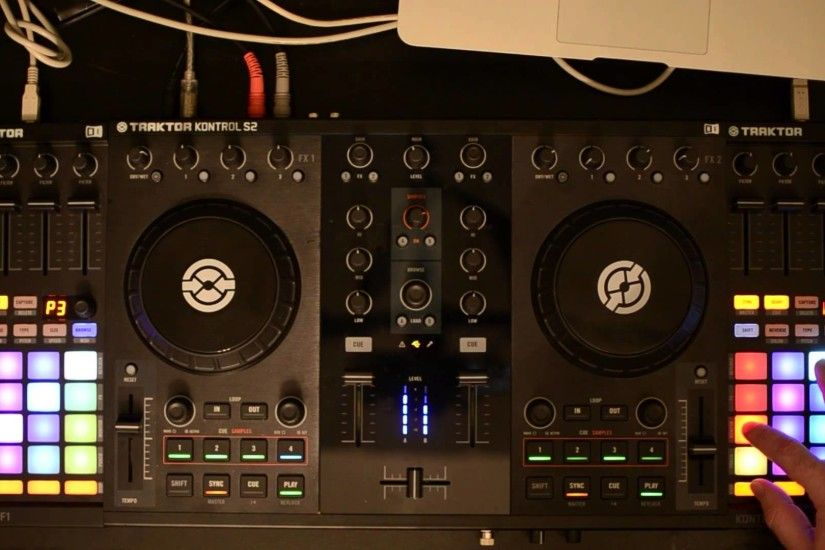 Native Instruments Traktor Kontrol F1 Kontrol S2 Traktor Remix Decks DJ Set  2 - YouTube