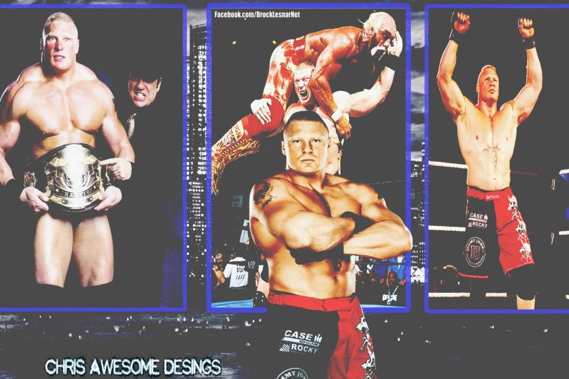 ... WWE - Brock Lesnar Wallpaper by ChrisAwesome013