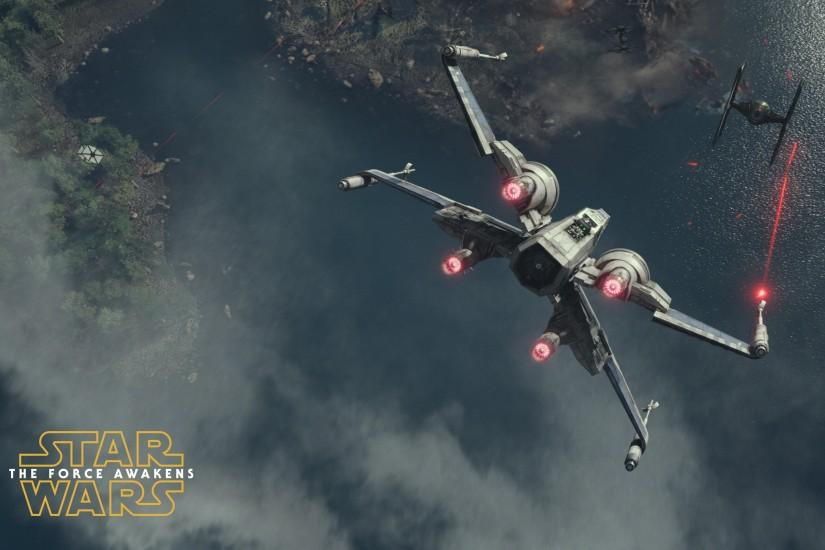 65 X-wing starfighter - Star Wars: The Force Awakens wallpaper .