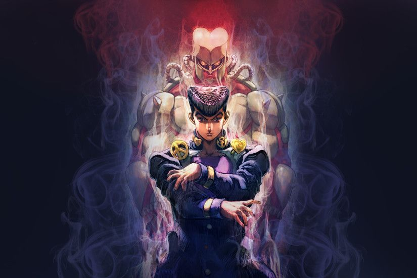 Anime - Jojo's Bizarre Adventure Josuke Higashikata Crazy Diamond (Jojo's  Bizarre Adventure) Wallpaper