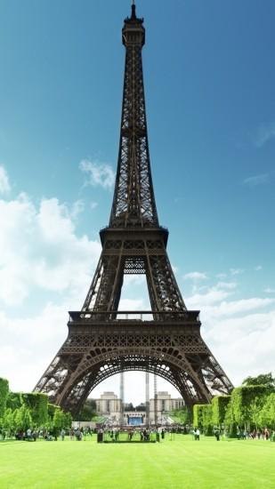 Man Made Eiffel Tower Monuments. Wallpaper 12509