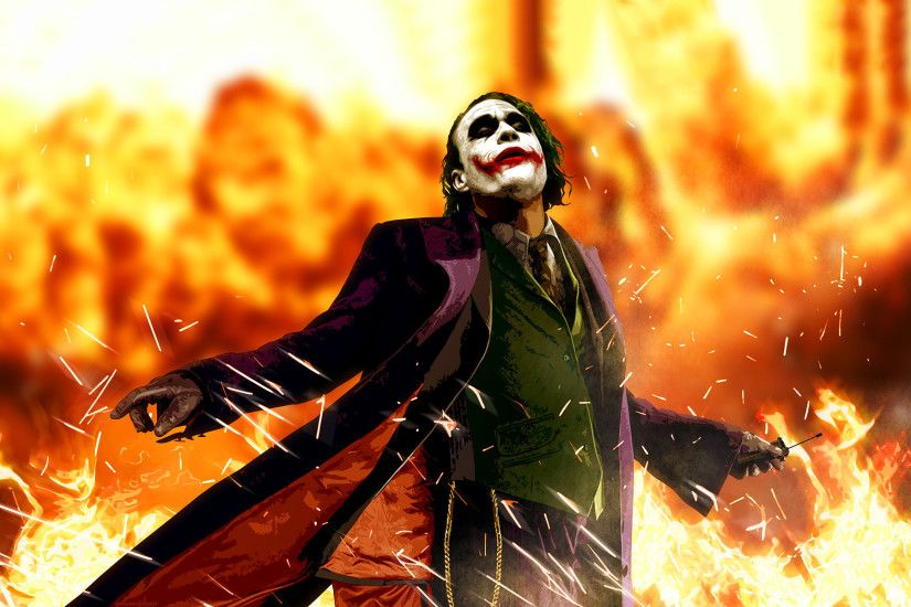 Heath Ledger Joker HD Wallpapers