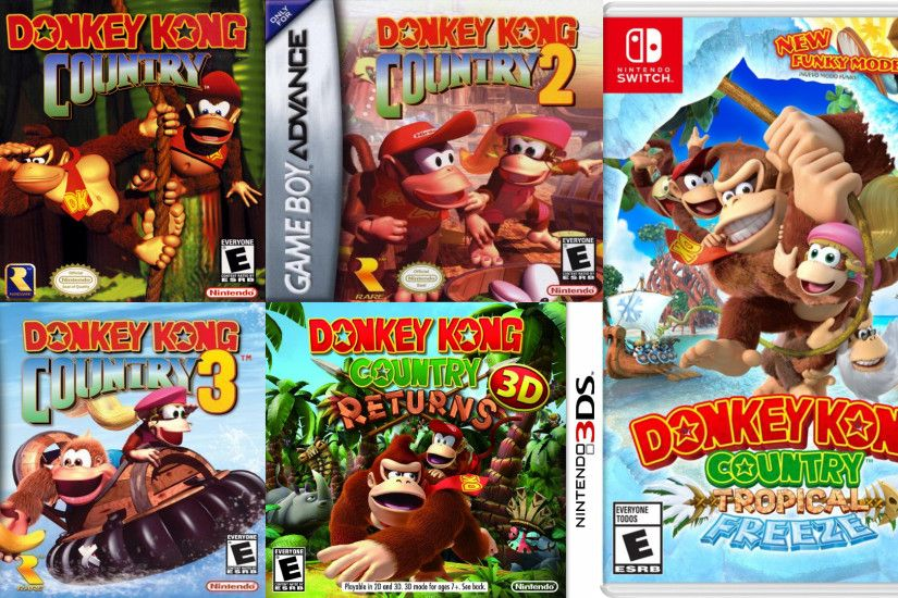 Image result for tropical freeze switch. So why does releasing Donkey Kong  Country: ...