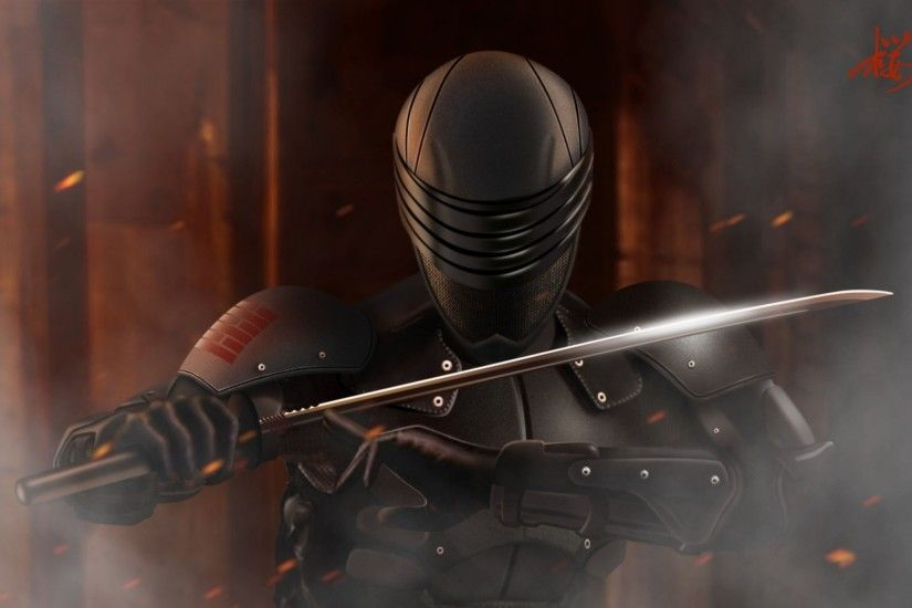 gi joe snake eyes Wallpaper HD