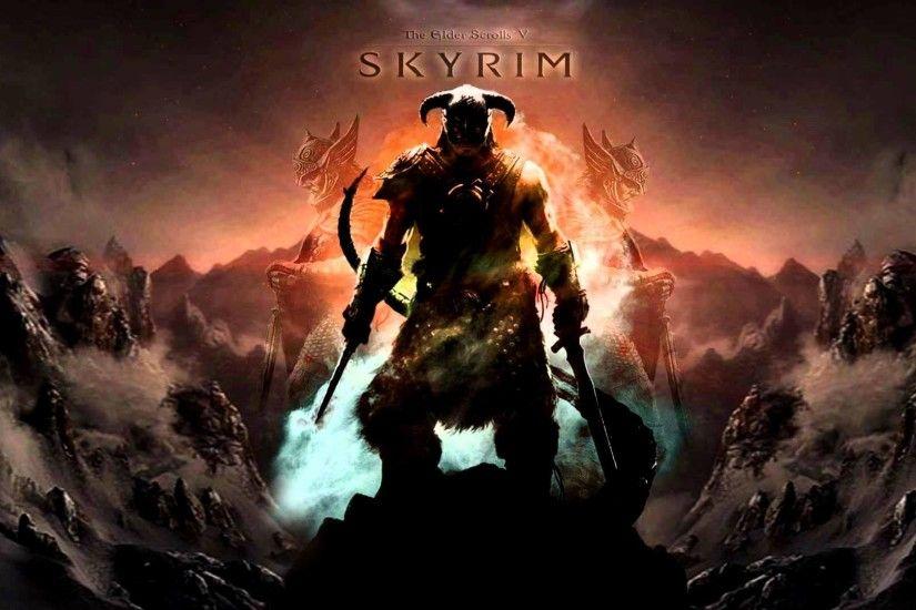 Skyrim Live Wallpaper Screenshot Source A Dragonborn For Your Dekstop And Phone