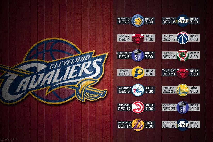 Cleveland Cavaliers cavs 2017 schedule NBA BASKETBALL logo wallpaper free  pc desktop computer