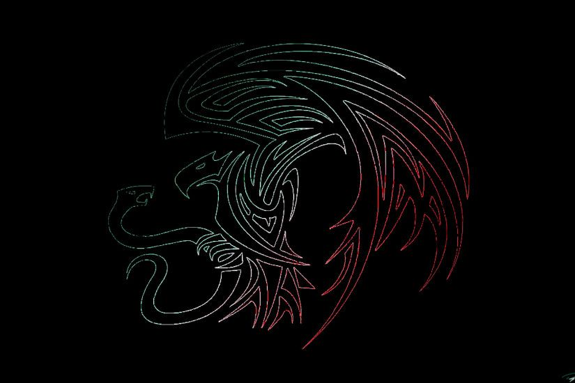 Tribal Dragon Wallpaper ·① WallpaperTag