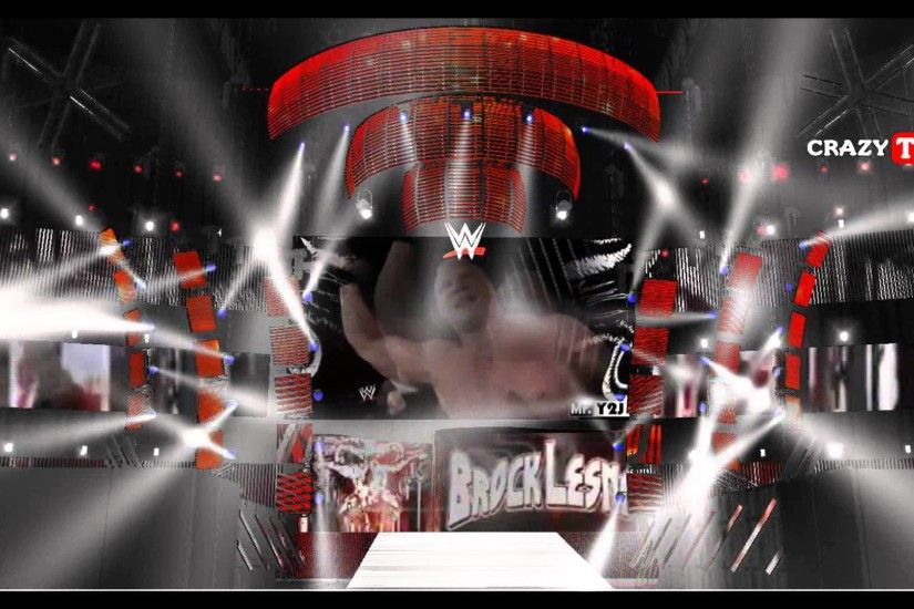 wwe HD concept | brock lesnar battle ground 2015 entrance