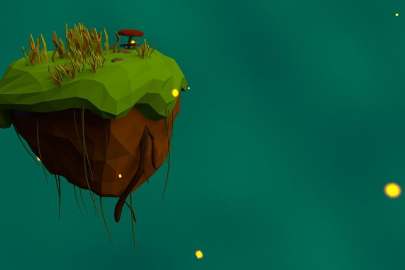 Floating Island background Final by HitchHock Floating Island background  Final by HitchHock