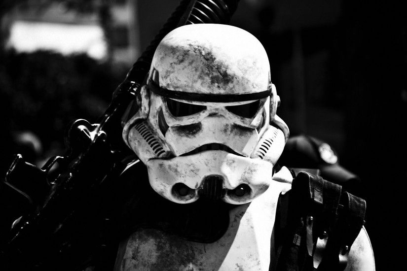 Star Wars black and white stormtroopers helmets portraits - Wallpaper ( /  Wallbase.