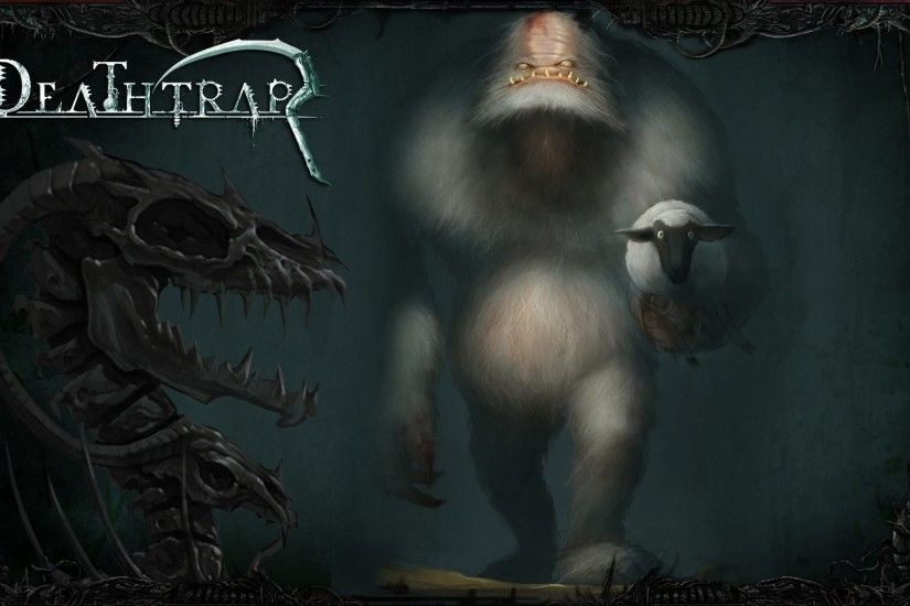 Video Game - Deathtrap Video Game Creature Wallpaper