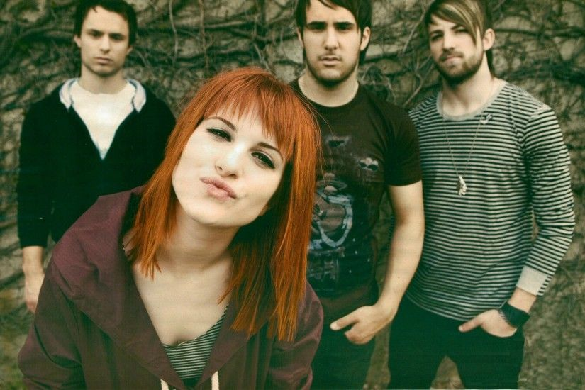 People 1920x1200 Hayley Williams Jeremy Davis Paramore Taylor York singer  women redhead rock stars dyed hair