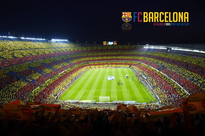 Camp Nou Barcelona Football Blog Wallpapers