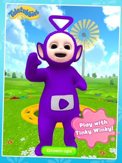 Play with Tinky Winky