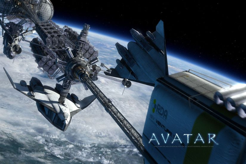 Avatar Movie Space Ships