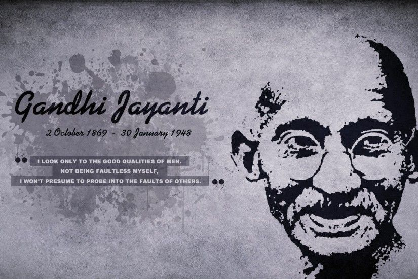 Happy Mahatma Gandhi Jayanti 2015 Best Quotes Information Speech Songs  Videos Wallpapers Images - YouTube