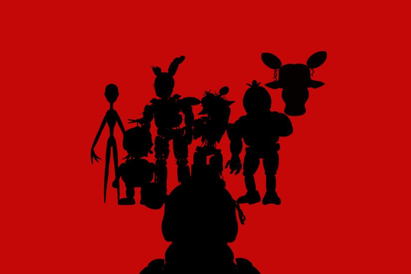 Five Nights at Freddy's all different game charter's from fnaf ...