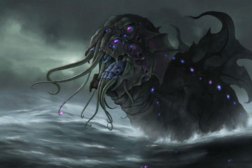 Download Wallpapers, Download 2560x1600 cthulhu hp .