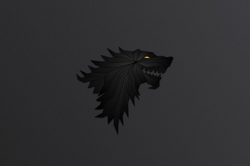House Stark Game Of Thrones Minimalism