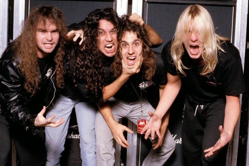 Speed Metal/Heavy Metal Band Slayer in 1985