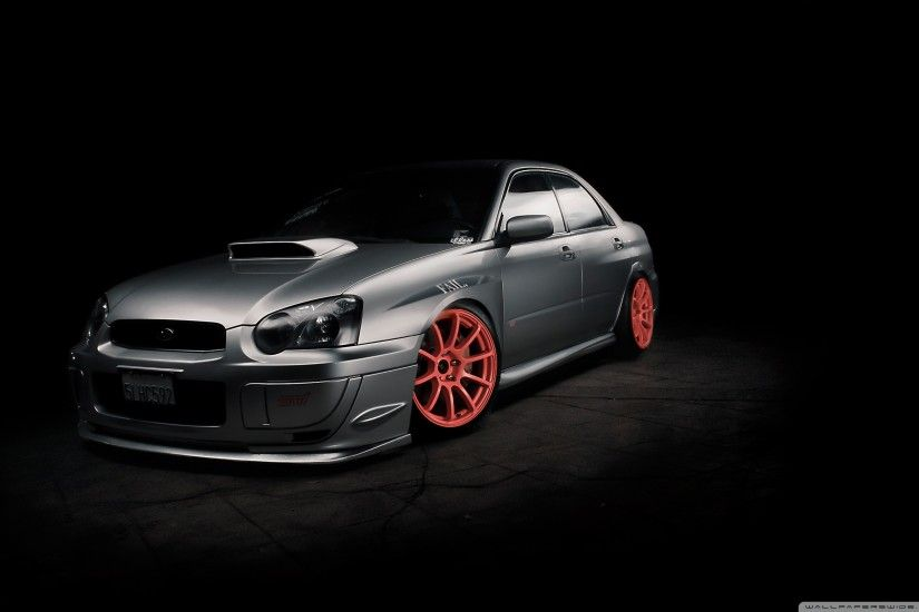 Subaru Impreza Tuning HD Wide Wallpaper for 4K UHD Widescreen desktop &  smartphone