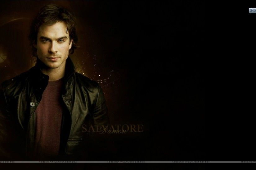 "You are viewing wallpaper titled ""Ian Somerhalder As Damon Salvatore"" ..."