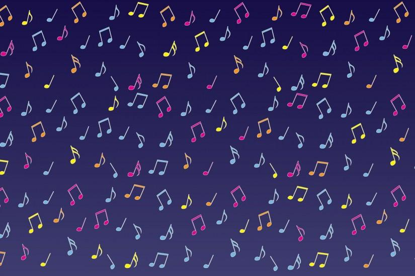 music notes background 1920x1200 for 4k