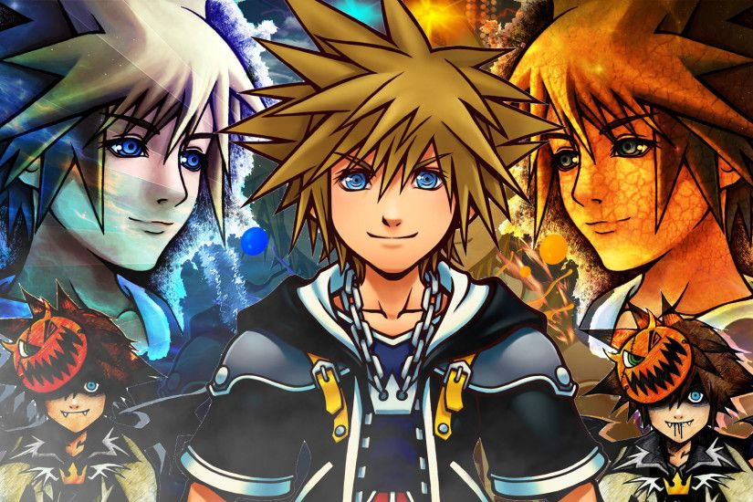 ... Kingdom Hearts 2 Sora Wallpaper by Soraa-game